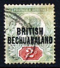 BRITISH BECHUANALAND QV 1891 2d. Grey-Green & Carmine OVERPRINTED SG 34 VFU