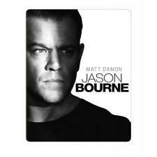 Blu Steel 4 U Jason Bourne Limited Edition Steelbook & UV Copy