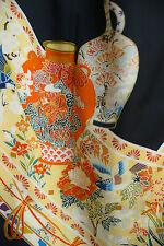 Vintage Japanese silk  Kimono  TOMESODE  from Japan 7-48