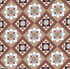 Dolls House Floor Panel Flooring Wallpaper Matte Card 1/12th or 1/24th      #36