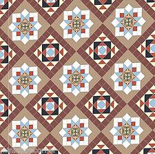 Dolls House Floor Panel Flooring Wallpaper Satin or Matte Card 1/12 - 1/24 #36