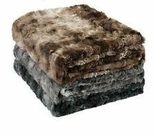 Fleece Blanket Winter Thrown On For Sofa Bed Couch Soft Warm Home Textile Covers