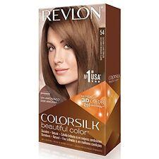 4 Pack Revlon ColorSilk Beautiful Permanent Hair Color (54) Golden Brown