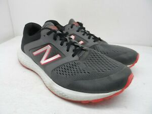 New Balance Men's 520v5 M520LM5 Running Shoes Grey/Red Size 13M