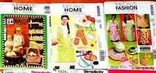 U Pick! Apron Sewing Pattern ~ McCalls