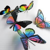 25 Pack Butterflies - Rainbow - 5 to 6 cm - Cakes, Weddings, Crafts, Cards,