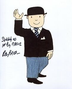 MR BENN narrator Ray Brooks signed photo WITH PROOF! + As if by Magic Quote! No6