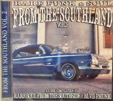 RARE FUNK & SOUL FROM THE SOUTHLAND - Volume #2 - 2CD Set