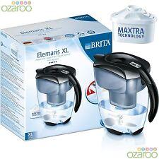 BRITA Elemaris Kühl SCHWARZ 3,5 L bis L Wasserfilter Für Kühlschrank Krug +1