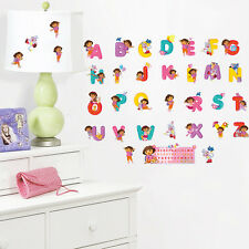 Dora Adventure 26 Alphabets Monkey Wall sticker Decals Girl Decor Mural Kids Art