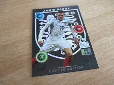 Panini Adrenalyn XL Euro 2016 Jamie Vardy Limited Edition England Edition MINT