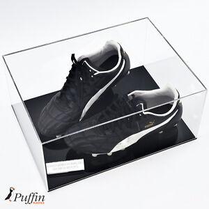 Acrylic Football Boot Display Case (Double)