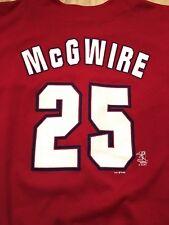 Mark McGwire St. Louis Cardinals VINTAGE 1999 True Fan MLB Jersey