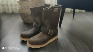 """RED WING SHOES 2975 11"""" Engineer Concrete Rough and Tough 38 EU Val. 330€"""