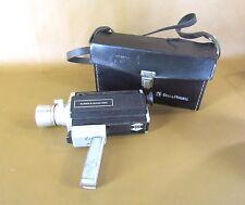 Vintage Bell & Howell Super 8 Zoom 1201 Camera With Original Case