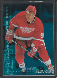 1999-2000 BAP MILLENNIUM SIGNATURE SERIES EMERALD PROOF #89 SERGEI FEDOROV SP /1