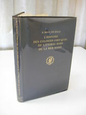 Belin de Ballu L'histoire des colonies grecques du littoral nord de la mer noire