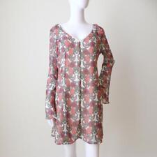 BAND OF GYPSIES Women's Dress Long Sleeve Shift Boho Style Size US 10 AU 12 - 14