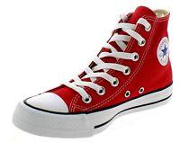 Converse All Star Red Alte rosse in tela Classic