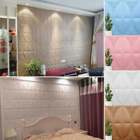 Self-adhesive 3D Tile Brick Wall Sticker Panel Brick Home Furniture Stickers hot