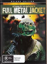 STANLEY KUBRICK'S FULL METAL JACKET Deluxe Edition DVD R4 - PAL
