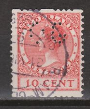 R10 Roltanding 10 used PERFIN OG Nederland Netherlands Pays Bas syncopated