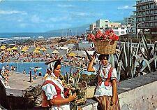 BG6249 puerto de la cruz tenerife types folklore piscina lido san telmo   spain