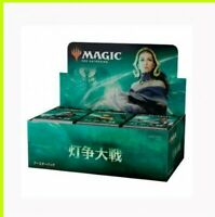 Magic : The Gathering MTG War of the Spark Booster Pack Box Japan Japanese
