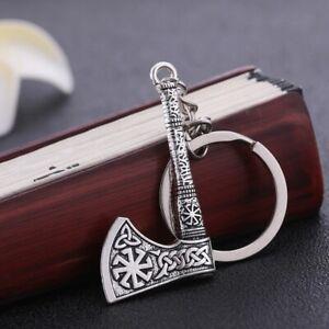 Viking Axe Key Chain Gift Slavic Wicca For Men Women