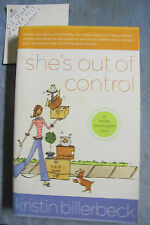 She's Out Of Control - Kristin Billerbeck OzSellerFasterPost!