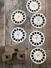Vtg View Master Sawyers With 6 Reels Ninja Turtles, Scooby Doo, Night B4 Xmas