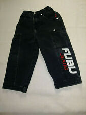 FUBU jeans 2T boys Deep patch pockets Elastic back Free Ship Benefits Charity