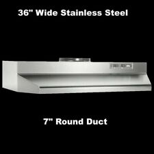 """New listing Over The Stove Range Hood Ducted Stainless Steel 36"""" under Kitchen Cabinet Fan"""