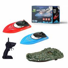 RC Krokodil Ferngesteuert Croco Race Boot Speedboat Speedboot RC 2,4GHz RTR 2in1