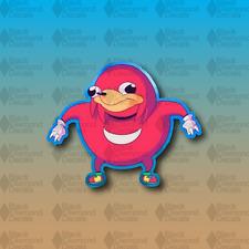 "Knuckles the Meme Funny Cartoon Pepe iFunny Hedgehog 4"" Vinyl Decal Sticker JDM"