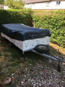 Sunncamp Holiday 400 Trailer Tent spares or repair