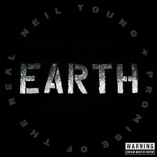 NEIL & PROMISE OF THE REAL YOUNG - EARTH  3 VINYL LP NEUF