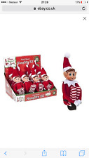 Vinyl face soft  Christmas ELF SITTING ON THE SHELF A WONDERFUL TOY FOR GIRL/boy