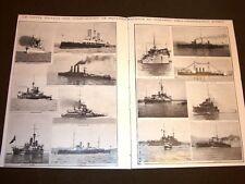 Spedizione d'Italia in Libia nel 1911 Navi della squadra dell'Ammiraglio Aubry