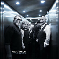 King Crimson : Live in Vienna CD Box Set 3 discs (2018) ***NEW*** Amazing Value