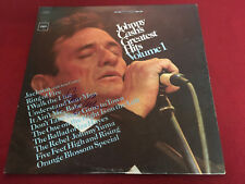 JOHNNY CASH SIGNED VINYL LP GREATEST HITS VOLUME 1