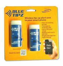 Blue Tipz Wireless Tip Up Alert w/ Lights + Sends Notification to Phone (2 pack)
