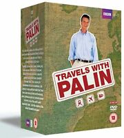 Michael Palin Travels The Complete Collection 20 Discs Box Set New Region 2 DVD