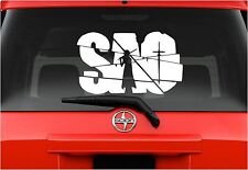 "Vinyl Decal Sticker. Car, Window, Wall... Sword Art Online (6"" x 10"")"