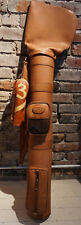 Claire Chase Leather Golf Bag - Beautiful One-of-a Kind!  Vintage Look!