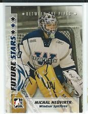 Michal Neuvirth Signed 2007/08 Between The Pipes Card #39