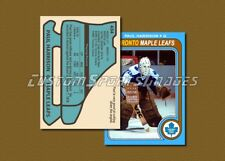Paul Harrison - Toronto Maple Leafs - Custom Hockey Card  - 1978-79
