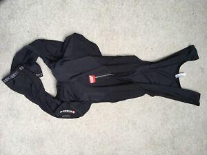 Used Black XL Assos T Roubaix FI Mille Padded Bib Knicker
