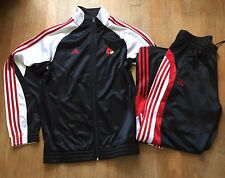 Louisville Cardinals ADIDAS Climacool Track Suit Warm Up Jacket Tear Away Pants