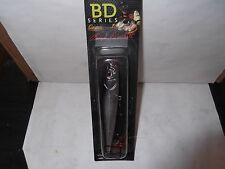 "CASTAIC BOYD DUCKETT BDT120 TOPWATER 4.5"" , 3/4 oz  CHROME BLACK"